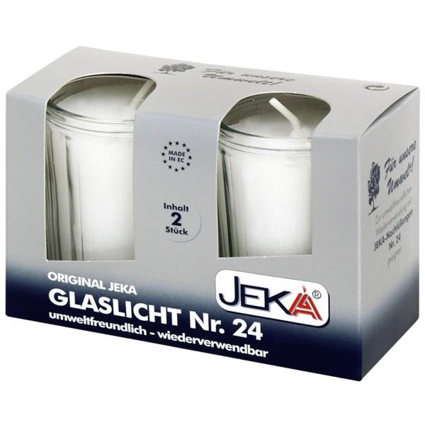 JEKA-Glaslicht Nr. 24, 2er