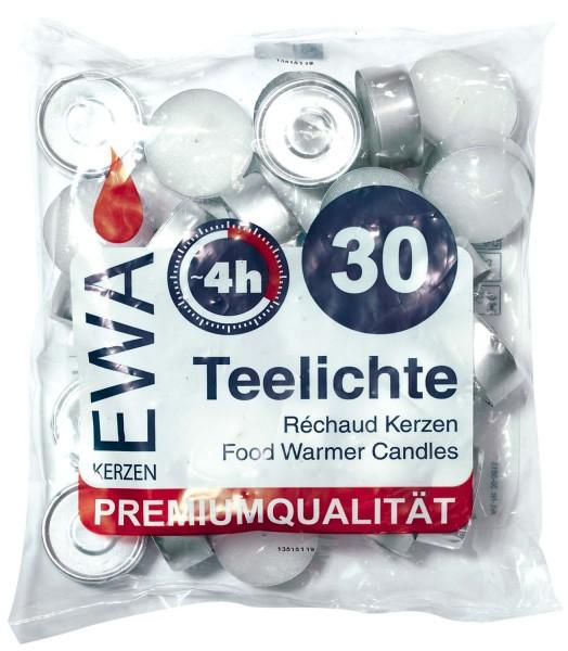 Teelichter mit Metallhülle, 30er
