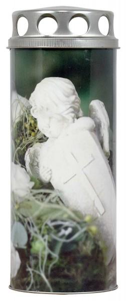 """Grablicht - Grabkerze - Motivkerze - Paperlight """"Engel aus Stein"""""""